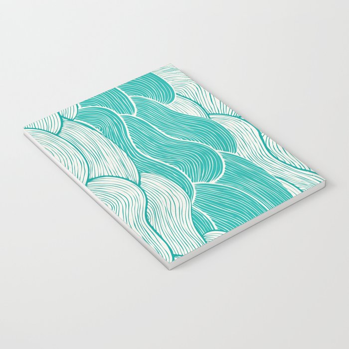 The Calm and Stormy Seas Notebook