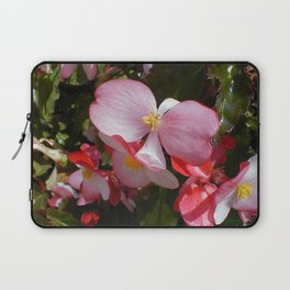 Begonia in the Rose Garden Laptop Sleeve