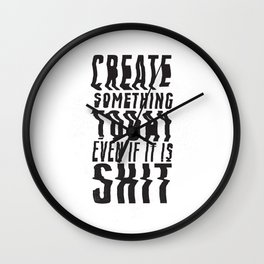 Create Something Today #3 Wall Clock