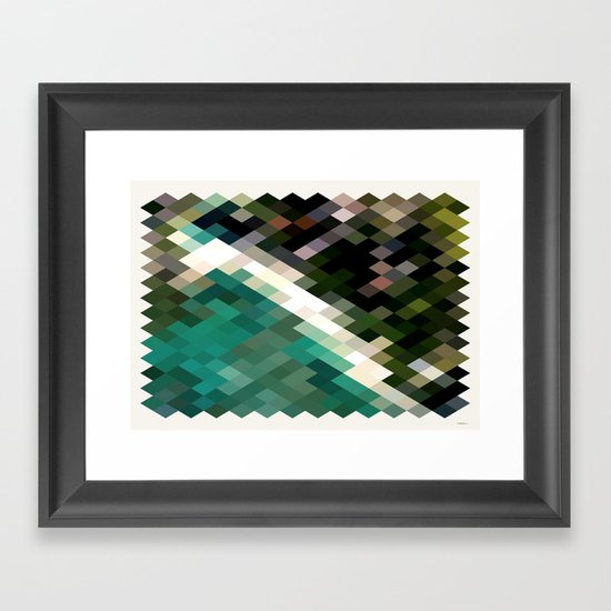 Honolulu, Framed Art Print