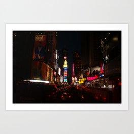 Night on the Town Art Print