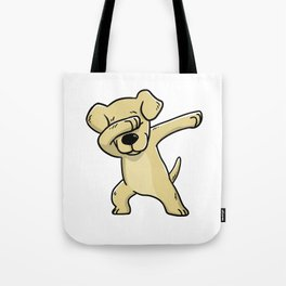 Dabbing Labrador Retriever Dog Dab Dance Tote Bag