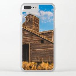 Grain Elevator 9 Clear iPhone Case