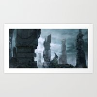 Megalopolis-1 Art Print