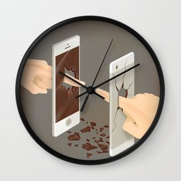 The Real Touch Wall Clock
