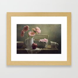 In the spring mood Framed Art Print