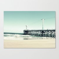 boardwalk empire Canvas Prints featuring Boardwalk by Sweet Moments Captured