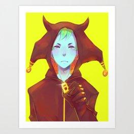 Demon Boy Art Print