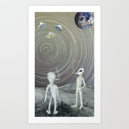 Void Chasers Art Print