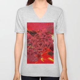 TSV I S1.04 || RED Unisex V-Neck