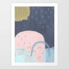 space 107 Art Print
