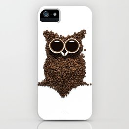 Coffee Owl iPhone Case