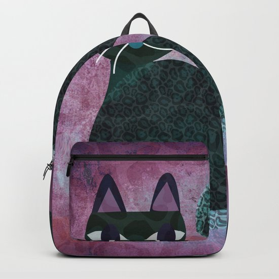 Two Cats Backpack
