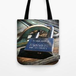Siempre- Love Lock Tote Bag
