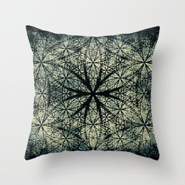 Sacred Geometry for your daily life -  ESOTERIC FLOWER OF LIFE Throw Pillow