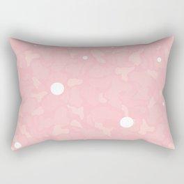 Light Pink Cammo Rectangular Pillow