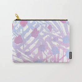 Abstract Paint Pattern Purple Carry-All Pouch