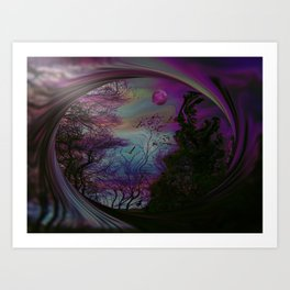 Into Another Dimension Art Print
