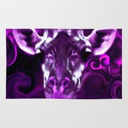 Closeup Purple Rug