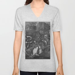 Jehan Bellegambe - Conversion of St Paul on the way to Damascus Unisex V-Neck