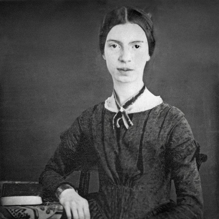 Emily Dickinson Portrait Duvet Cover