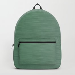 Metallic Green Backpack