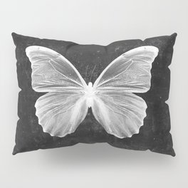 Butterfly in Black Pillow Sham