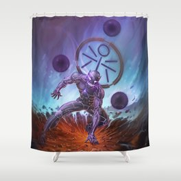 Kurai - By Lunart Shower Curtain