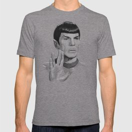 Spock Portrait Star Trek T-shirt