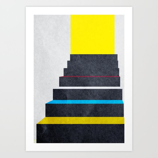 Stairs 02. Art Print