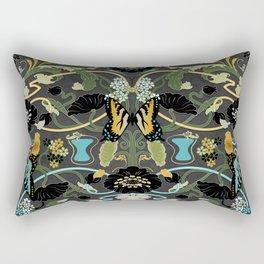 Art Nouveau Maximalism Rectangular Pillow