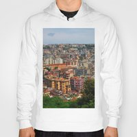 skyline Hoodies featuring Skyline by Amy Taylor