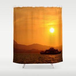 Last Ferry Shower Curtain