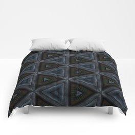 Star Steel Triangles Comforters