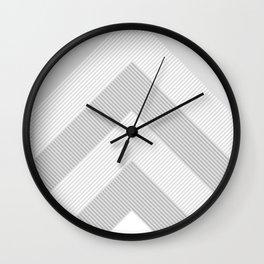 geometric 12 Wall Clock