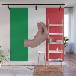 Italian Meme Wall Mural
