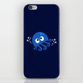 Bubbly Octopus iPhone Skin