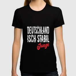 Germany Isch Stabil Junge T-shirt