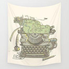 A Certain Type of City Wall Tapestry