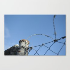barrier #2 Canvas Print
