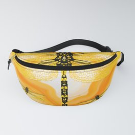 DRAGONFLY IN AGATE Fanny Pack