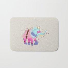 SPACE ELEPHANT Bath Mat
