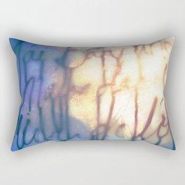Océan de Terre Rectangular Pillow