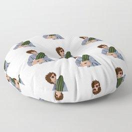 Michael Cera & the Magical Cactus Floor Pillow