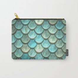 Serene Mermaid Scales Carry-All Pouch