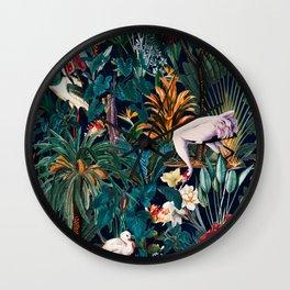 Beautiful Forest III Wall Clock