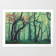 Tall Tree Tales Art Print