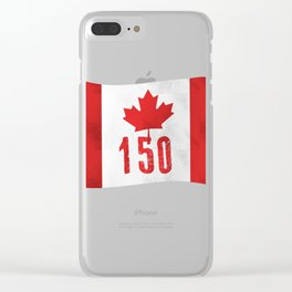 Canada 151 Canada Day Celebrations July 1s Clear iPhone Case
