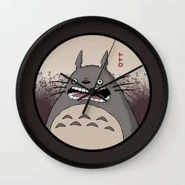 Frantic Forest Spirit Wall Clock