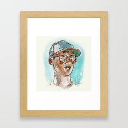 Bertram Framed Art Print